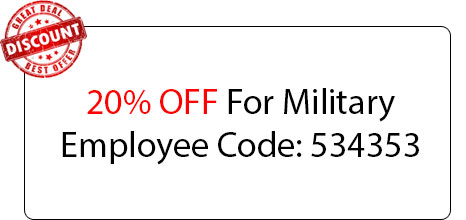 Military Employee Discount - Locksmith at Carson, CA - Carson Ca Locksmith